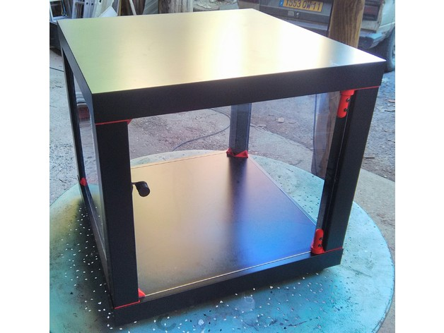 caisson lack discoeasy200 avec charni re 2 5 3 5mm by ragnaroque thingiverse. Black Bedroom Furniture Sets. Home Design Ideas