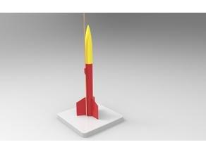Rocket for motor type B