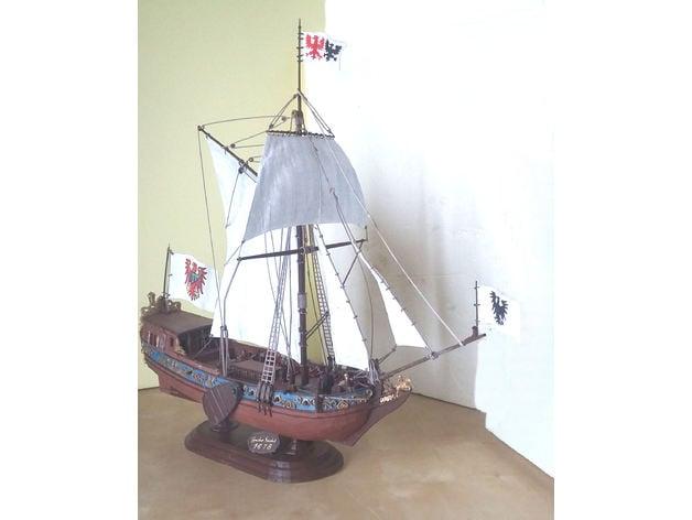 Confezione di 10 Belaying PIN BOSSO 18 mm per modelli di navi