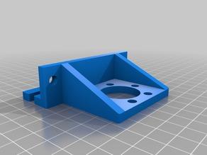 Z Nut Bracket TR10x2 with 6 drill holes