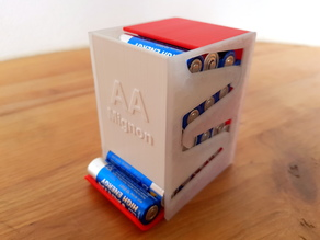 Battery dispenser for AA Mignon (Batteriespender)