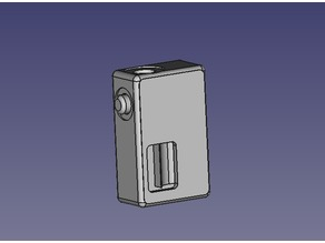 Squonk - Dinky Cuboid - 18650 - FDM Print
