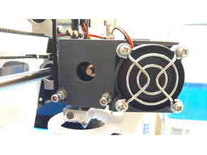 A8 extruder feed observation port