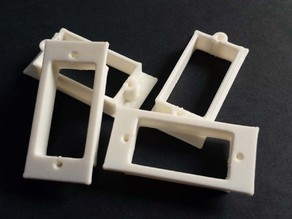 Servo Screw-Mounting Frame for Foamboard Airplanes