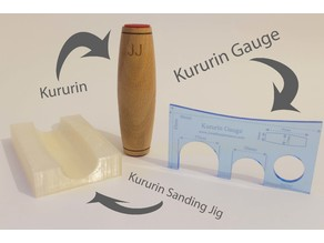 Kururin Tools - Gauge and Jig