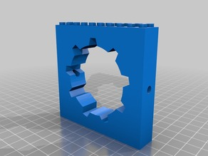 Lego Fallout Vault Door & Rail (Project LEGO Vault)