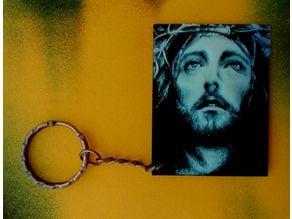 Jesucristo llavero