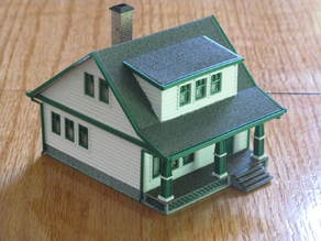 HO Scale Lasalle House