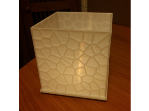 Voronoi Tea Light Shade (OpenSCAD)