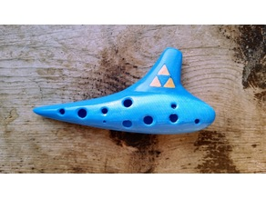 Working 12 hole Soprano Ocarina
