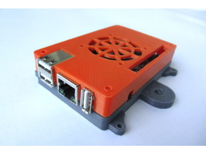 Orange PI PC Case with External mounts + M5 mount