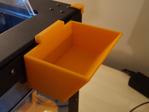 Qidi Tech / Flashforge Creator Pro Parts Utility Bin - Hang on side with no tooling