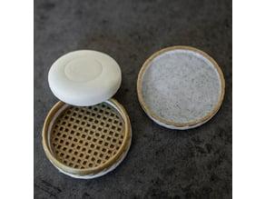 Sample soap travel box
