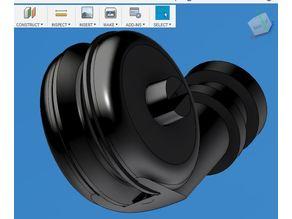 Bond Tech infeed filament roller