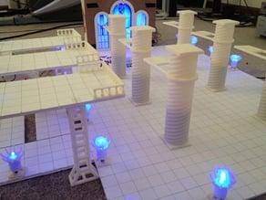 D&D Brazier/LED Light Stand