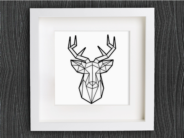 Customizable Origami Deer Head By Mightynozzle Thingiverse