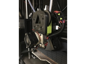 Fan Duct for - LulzBot TAZ Dual Extruder V3 Tool Head