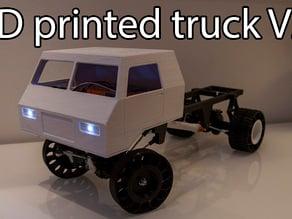 Printed truck V2: Cab