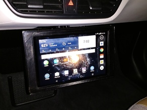 Tablet holder for BMW vehicles