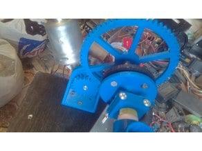 Lyman Filament extruder Gear for Russian VAZ wiper motor