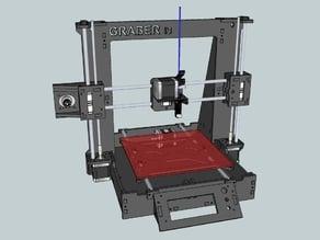Graber i3 6mm Printable Parts