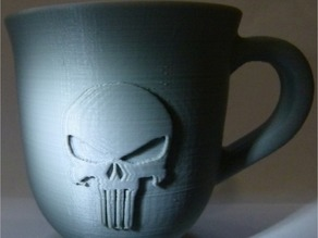 Coffee Cup With Punisher