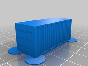 20ft container size H0 and N