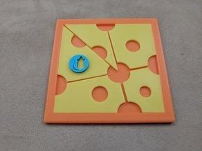 Katsunou cheese puzzle by Hanayama