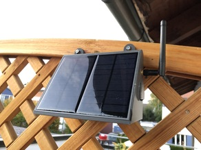 SOLAR POWERED WIFI WEATHER STATION V2