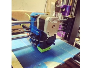 Prusa i3 MK2 Extruder With MK8 Drive for Wanhao i3/MakerSelect