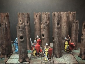 Z.O.D. Accursed Wood (28mm/Heroic scale)