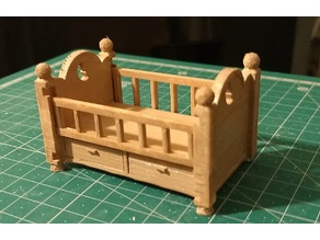 Doll House Baby Bed