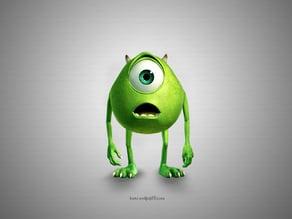 Mike Wazowski (From Disney Pixar's Monsters Inc.)