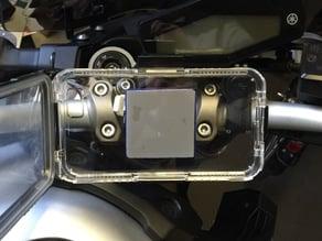 Yamaha MT09 iPhone mount for GoPro mount