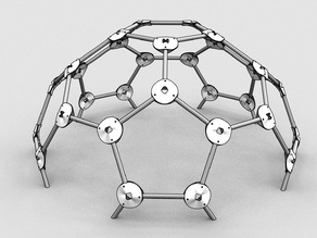 Quick Geodesic Dome Connector