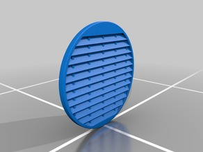 Louvered Cover Piece