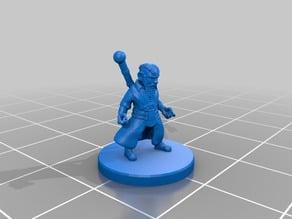Gnome Sorcerer Miniature