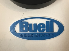 Buell American Motorcycles Logo Sign