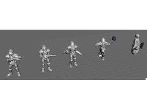 Robotech Zentran Production Line 5 set 1 (5 units)