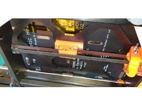 Prusa MK3 Y Belt Holder improved for Gates Belts