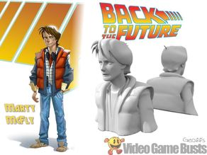 Marty McFly Game Character Bust