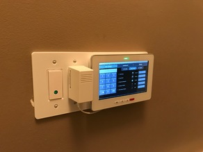 Rogers Smart Home Monitoring 2-Gang Switch Mount