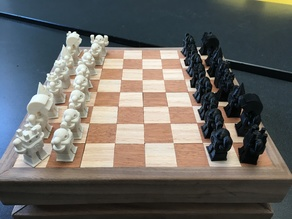 MakerBot Robot Chess Set