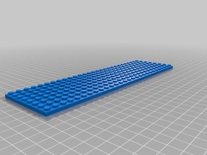 28x8 lego base