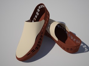 3-d printable boat shoes