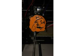 Anet A8 Front Fan Cover Super Mario