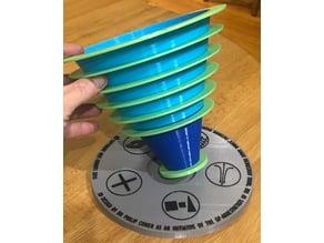 3D Vortex Model