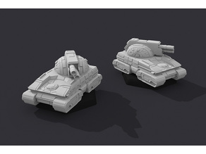Battletech Heavy Autocannon Tank (Demolisher)