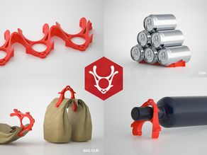 Rad Reindeer - Multi Purpose Fridge Tool