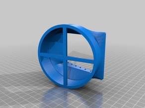 VW Bus T5 Air Vent Adapter